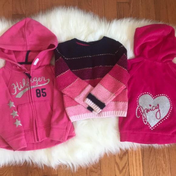 ecb9309a7 Tommy Hilfiger Shirts & Tops | Toddler Girl Jackets Bundle Size 3 T ...